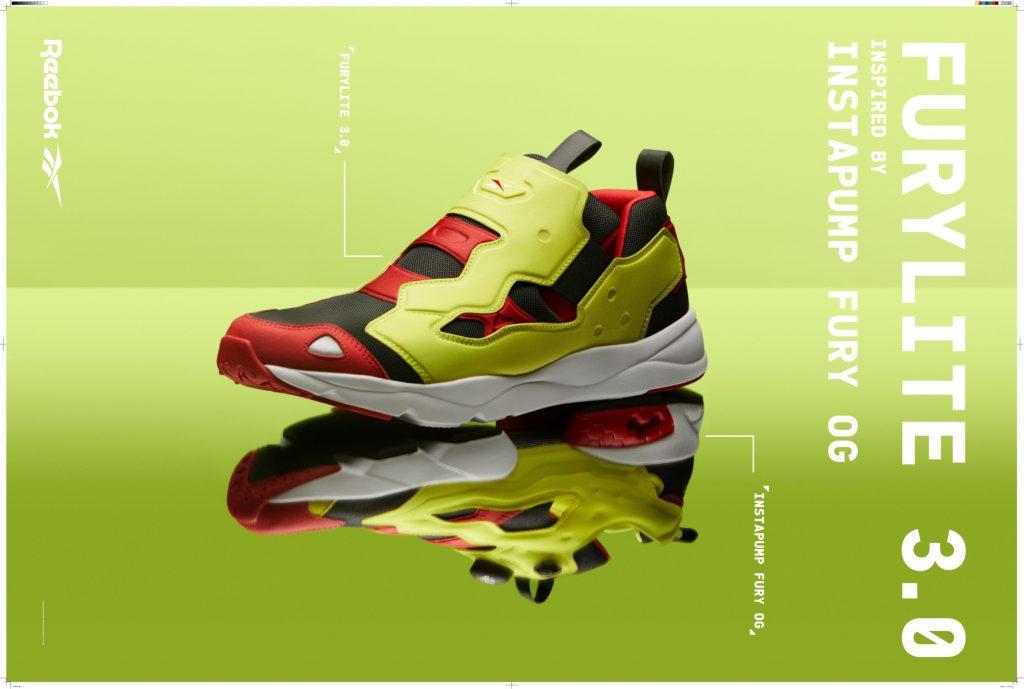 Reebok Classic人氣鞋款之一的Furylite 再度升級